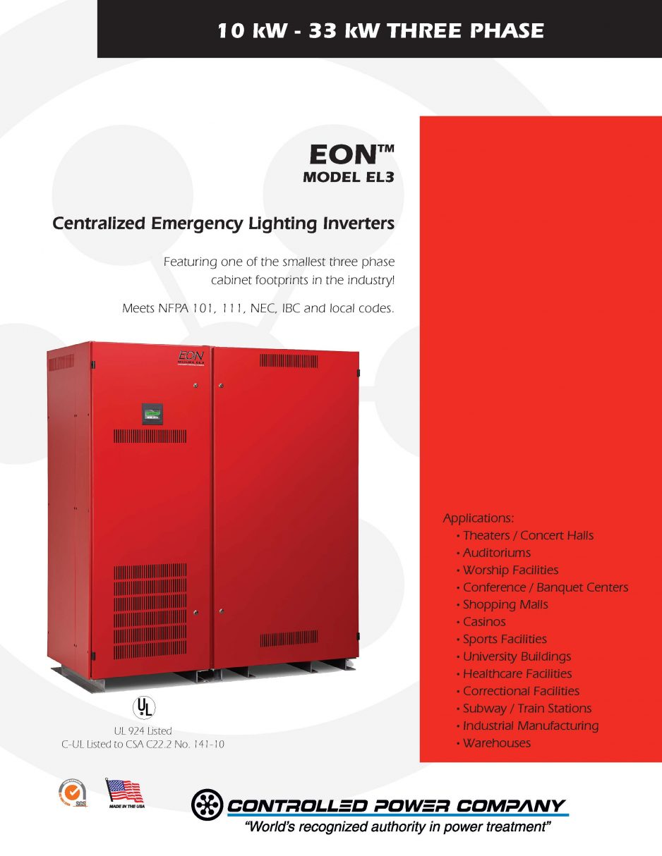 Attractive EON Brochure